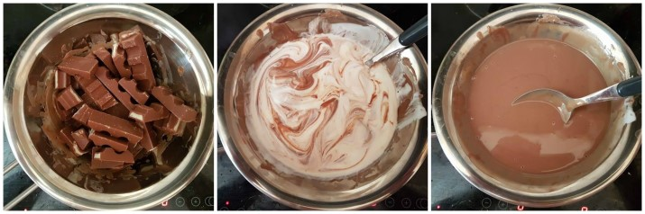 Crema Kinder al cioccolato, ricetta con solo 2 ingredienti Dulcisss in forno by Leyla
