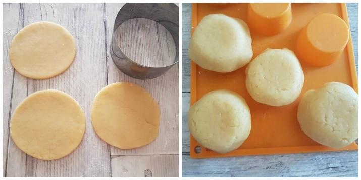Barchette di pasta frolla alla Crema Kinder al cioccolato ricetta Dulcisss in forno by Leyla