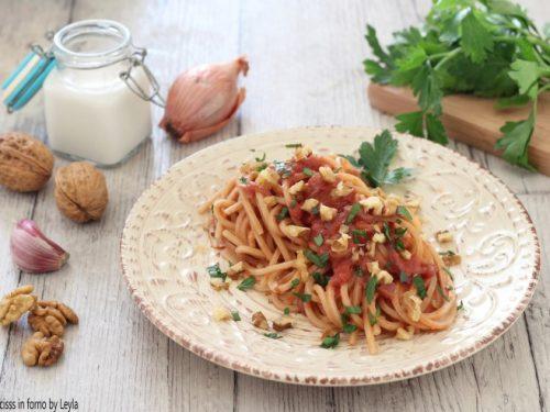 Pasta alla parchitana, ricetta siciliana