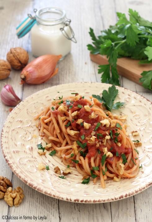 Pasta alla parchitana, ricetta siciliana ricetta Dulcisss in forno by Leyla