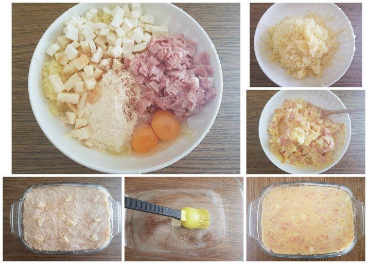 Torta di patate ricca con formaggi filanti e mortadella ricetta Dulcisss in forno by Leyla