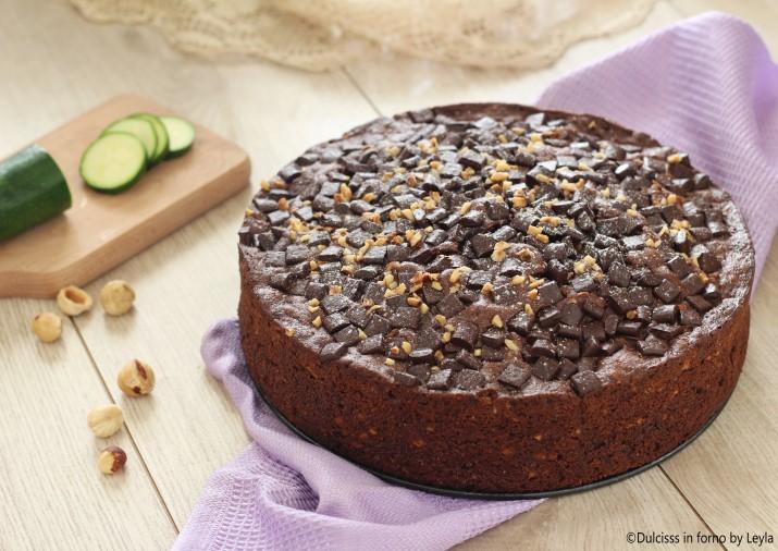 Torta zucchine e cioccolato ricetta Dulcisss in forno by Leyla