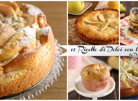 15 ricette di Dolci con le mele – ricette facili con le mele