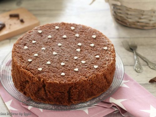 Torta al cioccolato senza burro più soffice del mondo