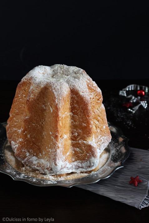 Pandoro con lievito di birra sfogliato ricetta Dulcisss in forno by Leyla