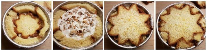 Zuccotto di pandoro con gelato e torroncino ricetta Dulcisss in forno by Leyla