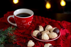 Biscotti al cocco e cioccolato