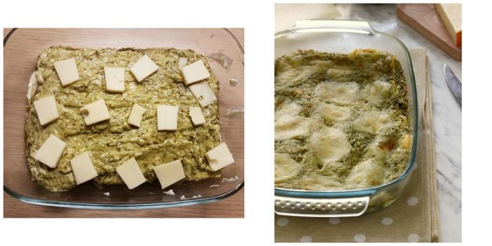 Lasagne al pesto e formaggio fontina, ricetta veloce Dulcisss in forno by Leyla