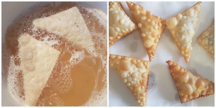 Chiacchiere ripiene di Nutella facili e golose, ricetta di Carnevale Dulcisss in forno by Leyla
