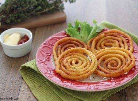 Patate fritte a spirale