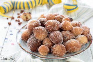 Frittole dolci Frittelle veneziane di Carnevale