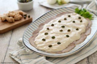 Vitello tonnato ricetta con salsa tonnata con uova sode con o senza maionese Dulcisss in forno by Leyla