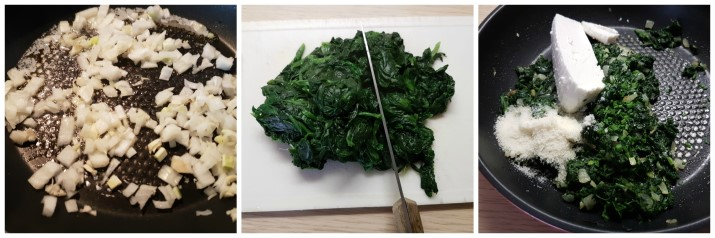 Schlutzkrapfen o mezzelune tirolesi o ravioli spinaci e ricotta ricetta Dulcisss in forno by Leyla