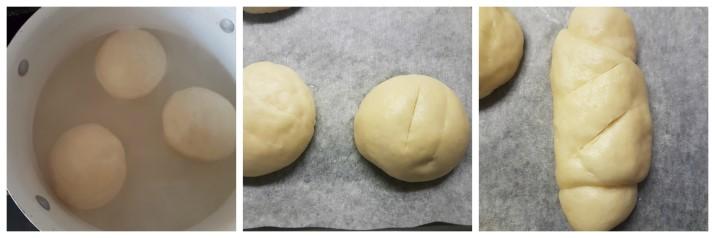 Laugenbrot ricetta o Panini Laugen fatti in casa con lievito di birra Dulcisss in forno by Leyla
