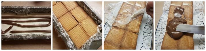 Semifreddo al mascarpone e nutella con biscotti, ricetta veloce e golosissima Dulcisss in forno by Leyla