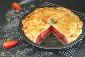 Crostata di fragole americana, ricetta Strawberry Pie