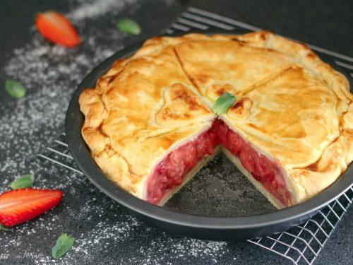 Strawberry Pie: la ricetta della Crostata americana di fragole