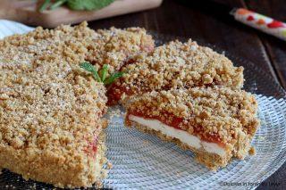 Torta ricotta e marmellata ricetta torta fredda alla ricotta