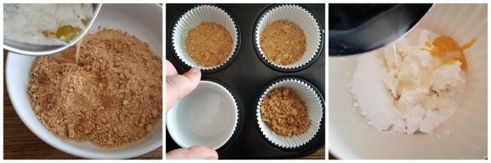 Mini Cheesecake al limone e ricotta, facili senza cottura ricetta Dulcisss in forno by Leyla