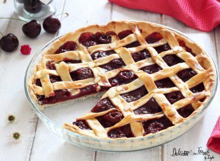 Torta di ciliegie americana o Cherry Pie ricetta americana