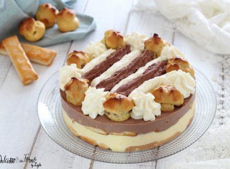 Torta Saint Honore gelato facile