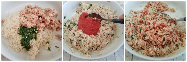 Peperoni ripieni di riso e tonno al forno ricetta facile e gustosa Dulcisss in forno by Leyla