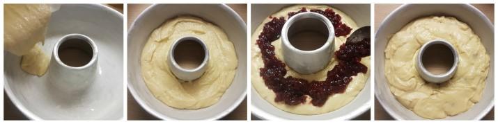 Ciambella morbida alla ricotta e marmellata senza burro ricetta Dulcisss in forno by Leyla