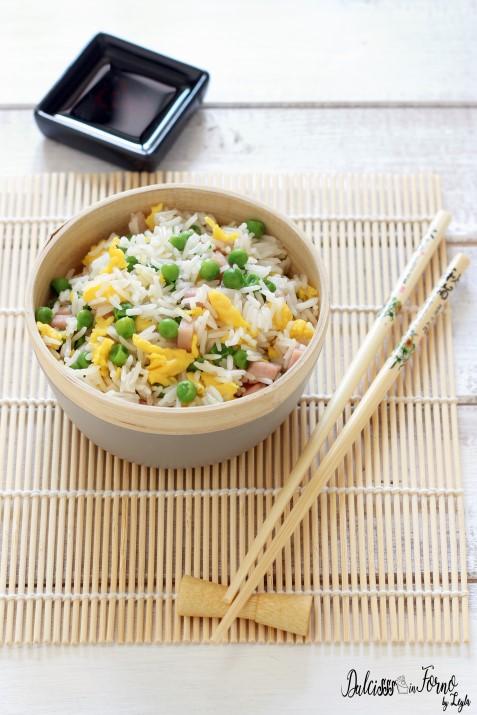 Riso alla cantonese ricetta facile e ricetta originale del riso fritto Dulcisss in forno by Leyla