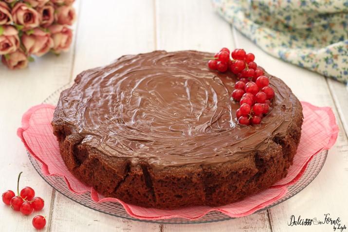 Torta 5 Minuti alla Nutella Senza Uova, Facile, Veloce, Golosa