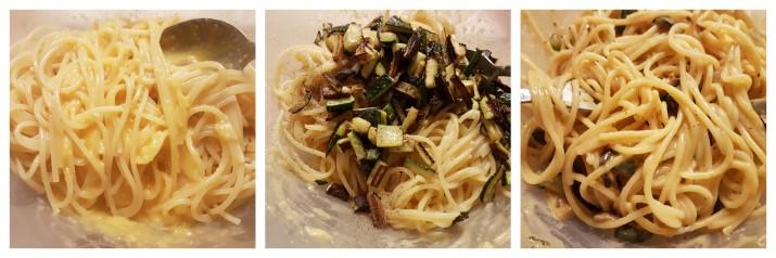 Pasta alla Carbonara con zucchine o Carbonara vegetariana veloce ricetta Dulcisss in forno by Leyla