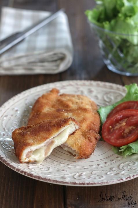 Cordon Bleu di pollo macinato ricetta facile e veloce, fritti o al forno Dulcisss in forno by Leyla