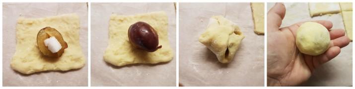 Canederli dolci alle prugne tirolesi o Zwetschgenknodel ricetta Alto Adige Dulcisss in forno by Leyla