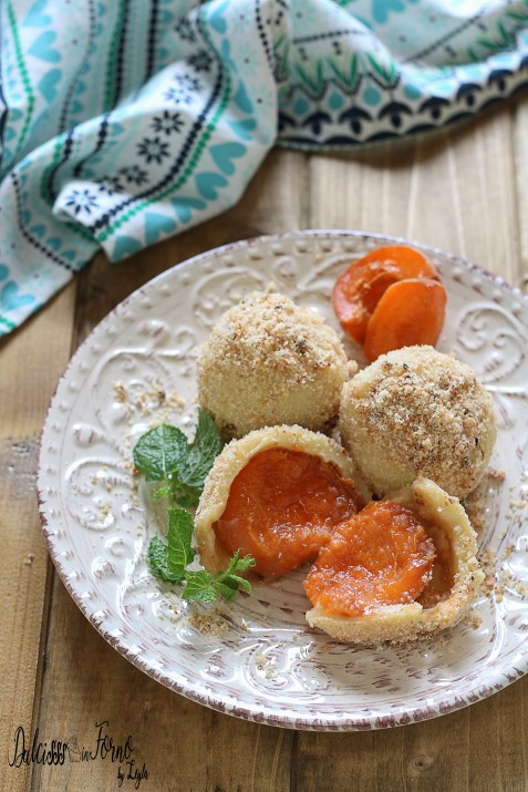 Canederli dolci alle albicocche tirolesi: la ricetta dei Marillenknodel Dulcisss in forno by Leyla