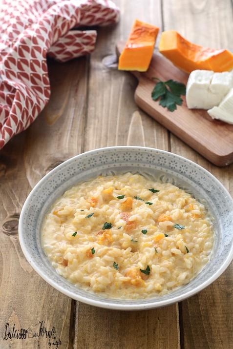 Risotto con zucca e stracchino cremoso ricetta Dulcisss in forno by Leyla
