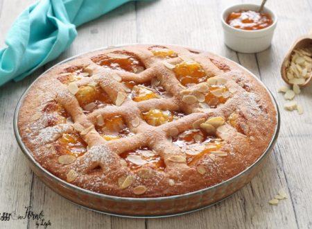 Torta con mandorle e marmellata di albicocche facile