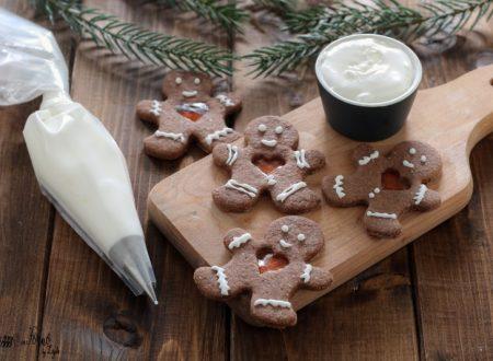 Glassa con albume e zucchero a velo per decorare i biscotti di Natale e non solo…