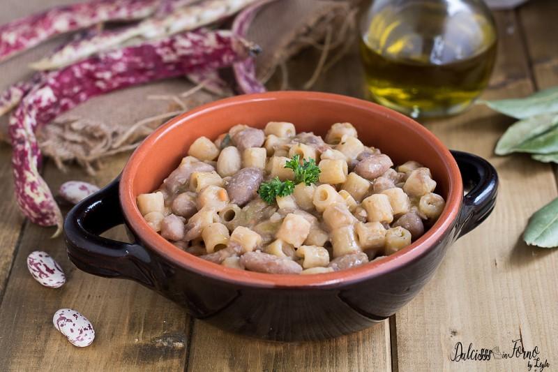 Ricetta veloce di pasta e fagioli