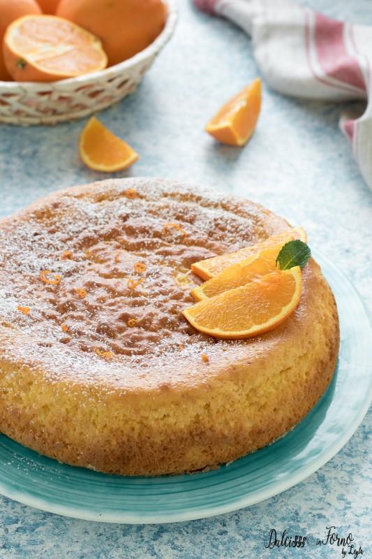 Pan d'arancia, torta con arance intere, pan d'arancio ricetta originale