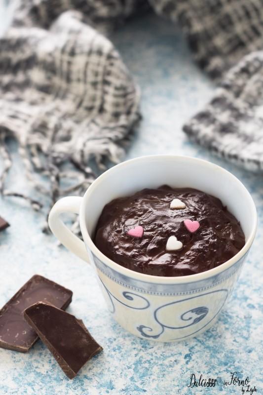 Cioccolata calda densa fatta in casa pronta in 10 minuti ricetta Dulcisss in forno by Leyla