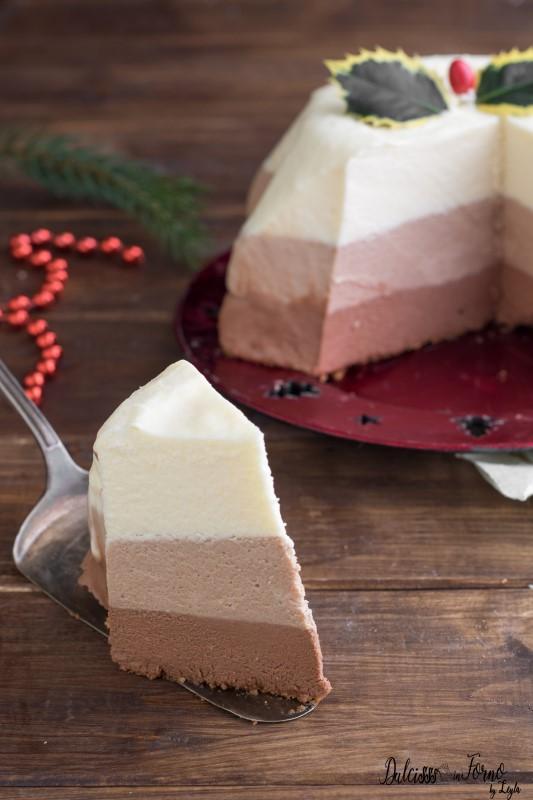 Torta Mousse al cioccolato, ricetta torta di Natale al cioccolato