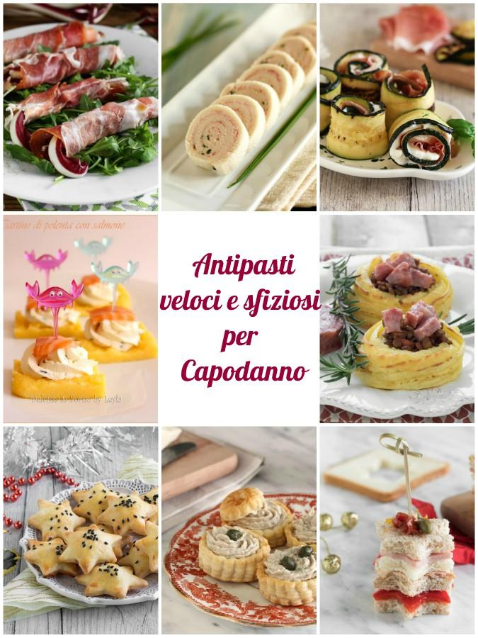 Antipasti veloci per capodanno, antipasti particolari per il cenone di Capodanno ricette Dulcisss in forno by Leyla