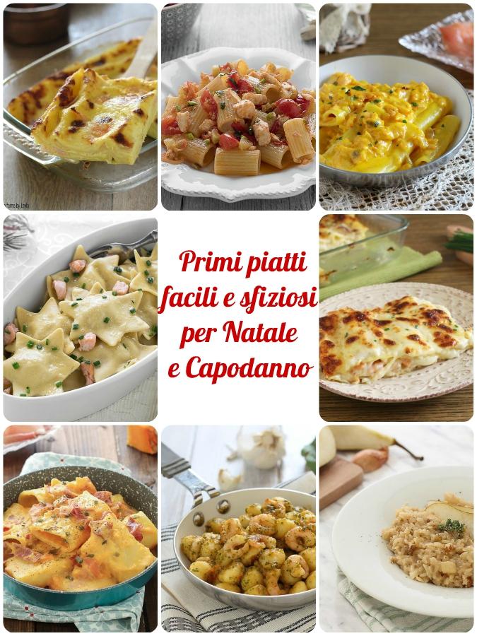 Primi piatti per natale semplici veloci sfiziosi ricette for Primi piatti semplici