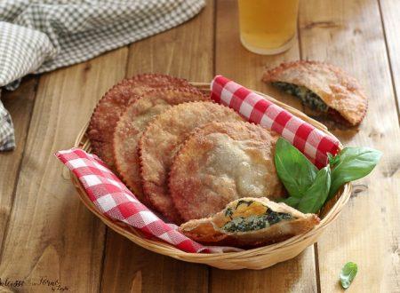 Tirtlen con spinaci ricotta e patate dell'Alto Adige