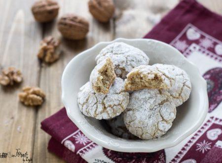 Biscotti morbidi alle noci senza burro pronti in 5 minuti
