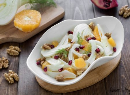 Insalata finocchi e arance: le insalate invernali del benessere