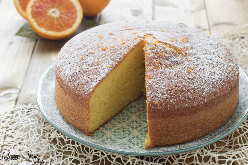 Torta soffice all arancia senza burro semplice e morbidissima ricetta  Dulcisss in forno by Leyla 08232f4000