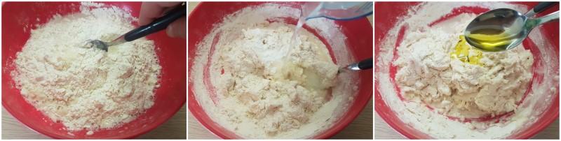 Pizza bianca romana, la focaccia bianca soffice e veloce senza impasto ricetta Dulcisss in forno by Leyla