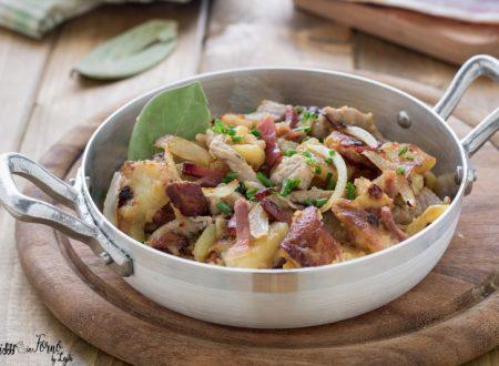 Rosticciata di carne e patate in padella, la ricetta del Grostl di patate tirolese