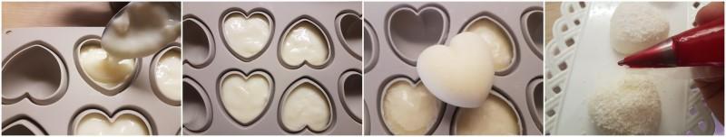 Biancomangiare siciliano semplice o Budino al latte senza uova ricetta Dulcisss in forno by Leyla