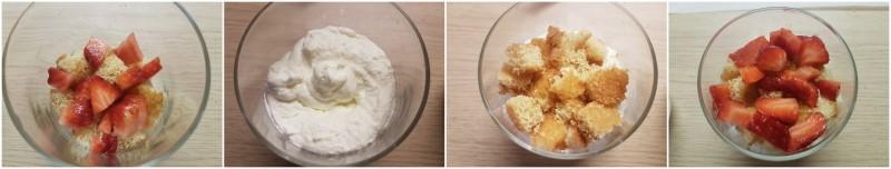 Bicchierini dolci con crema mascarpone e fragole: dolci freschi e veloci ricetta Dulcisss in forno by Leyla